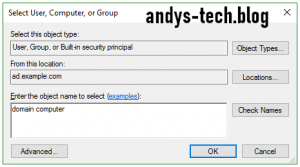 Add domain computer