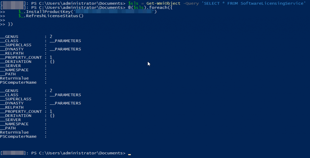Powershell: Upgrade Windows edition