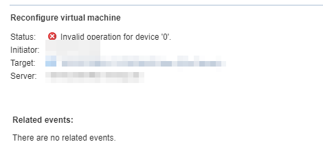 Invalid operation for device '0'