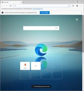 Microsoft Edge based on Chromium